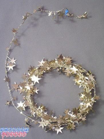 Gold Star 18' Wire Garland