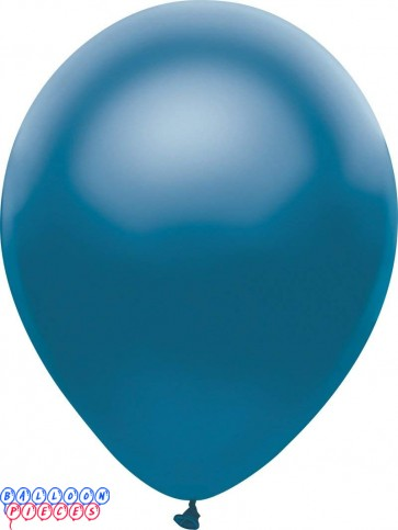 Metallic Satin Royal Blue Color 12inch Latex Balloons