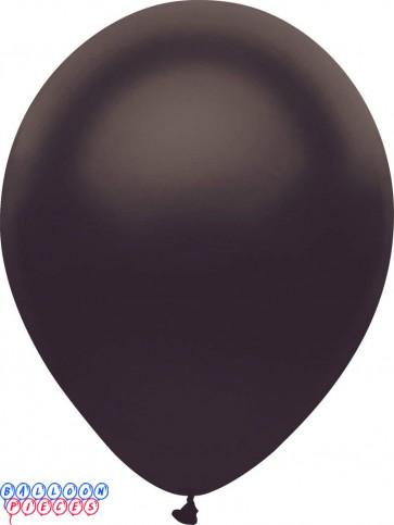Metallic Satin Black Color 12inch Latex Balloons