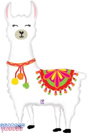 "Happy Llama 45"" Foil Balloon"