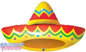 Sombrero 41 inch Foil Balloon