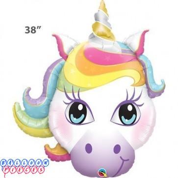 Magical 38inch Unicorn Super Shape Balloon