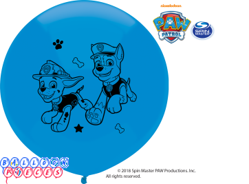 Paw Patrol Boys 17 inch Round Latex Balloons 3ct