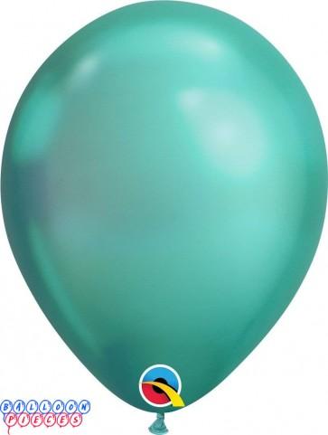 Chrome Green Metallic 11inch Latex Balloon