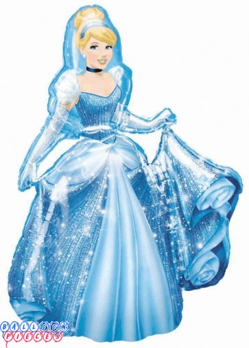 "Disney Cinderella Air-Walker 48"" Foil Balloon"