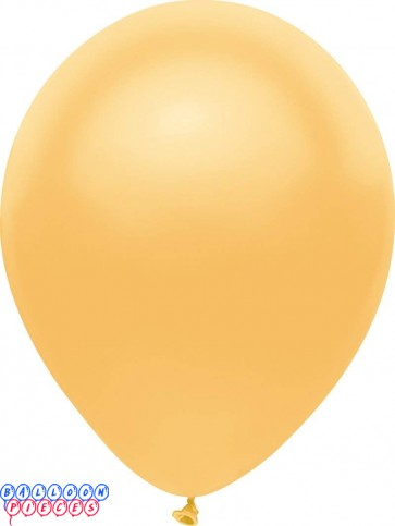 Metallic Radiant Gold Color 5inch Latex Balloons 50ct