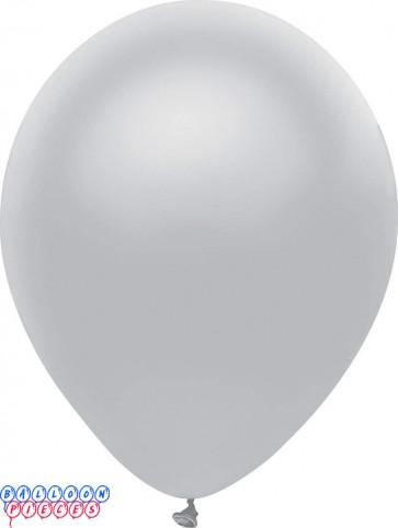 Metallic Shining Platinum Color 12inch Latex Balloons