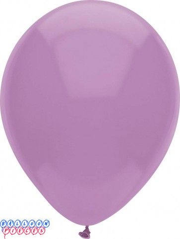 Luscious Lavender Pastel Color 12inch Round Latex Balloons