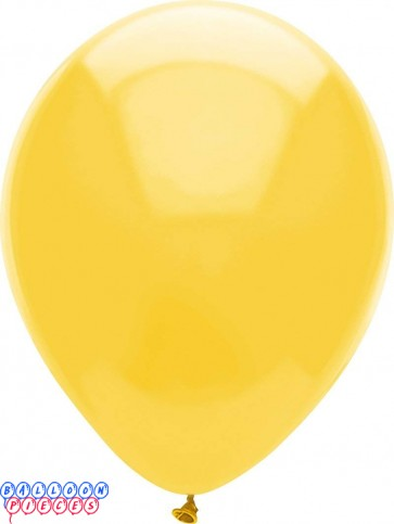 Butterscotch Pastel Color 12inch Round Latex Balloons