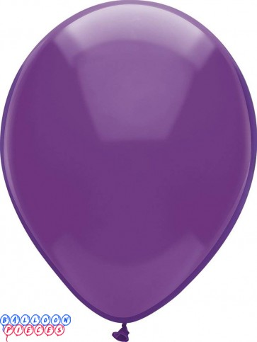 Regal Purple Royal Rich Color 12 inch Latex Balloons