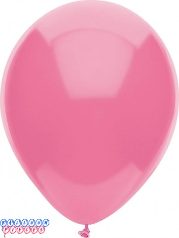 Passion Pink Pastel Color 12 inch Round Latex Balloons