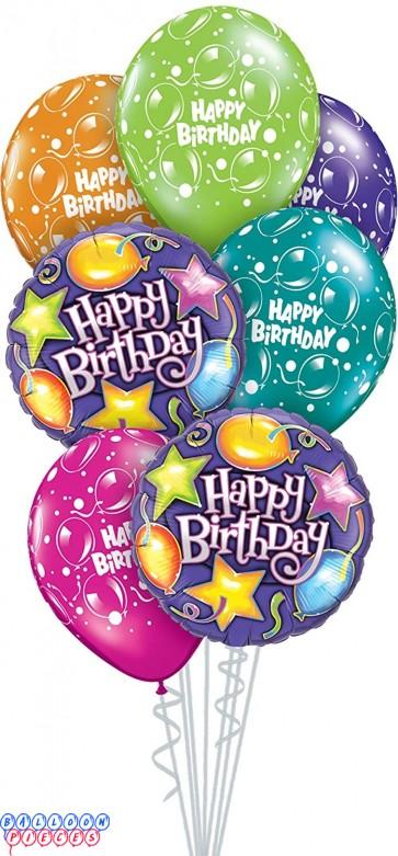 Birthday Party Balloon Bouquet