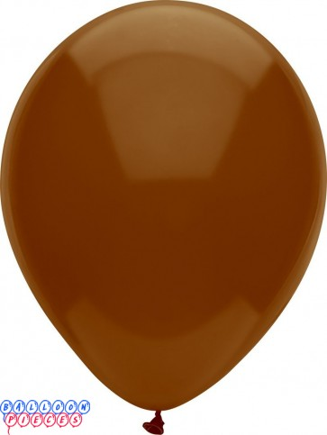 Chestnut Brown Royal Rich Color 12inch Latex Balloons