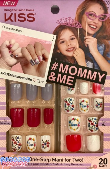 MOMMY & ME One-Step Mani for Two -  Hashtag Fierce
