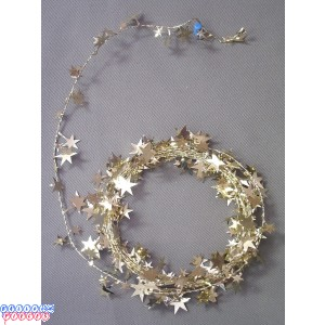 Gold Star 18' Wire Garland