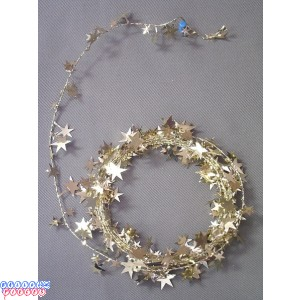 Gold Star 25' Wire Garland