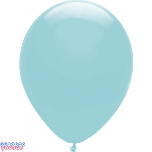 Aquamarine Pastel Color 12inch Round Latex Balloons