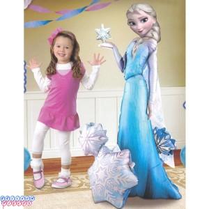 Elsa the Snow Queen 57 inch Air Walker Foil Balloon