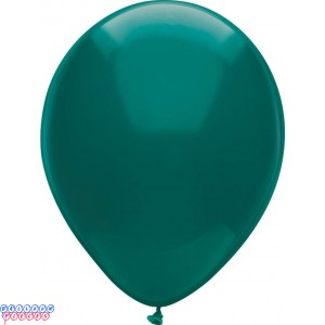 Deep Turquoise Royal Rich Color 12inch Latex Balloons