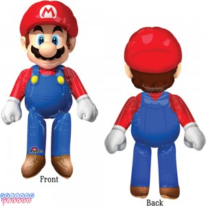 "Mario Brothers 60"" Air-walker Balloon"